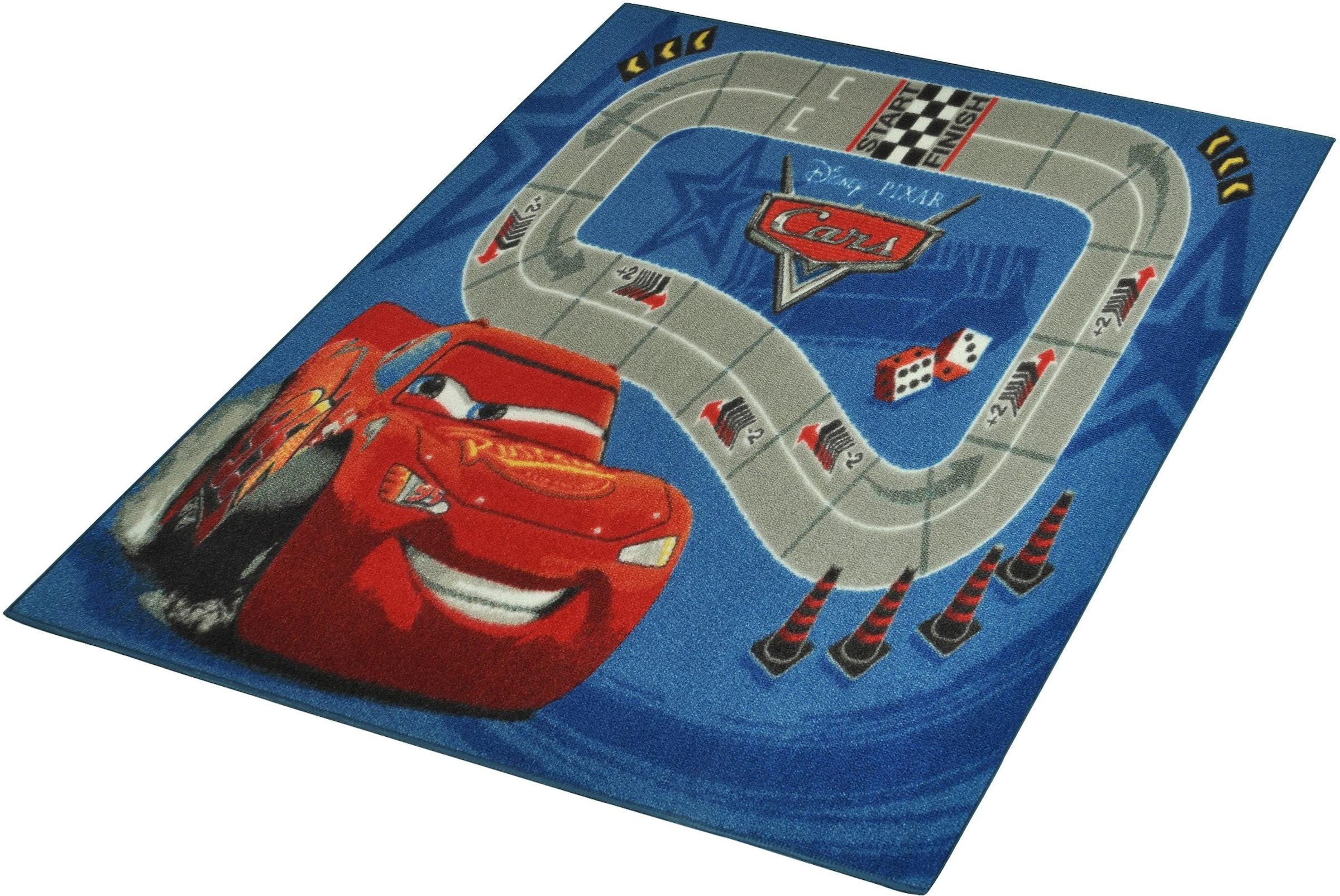 Image of Kinderteppich, »CARS«, Cars, rechteckig, Höhe 7 mm