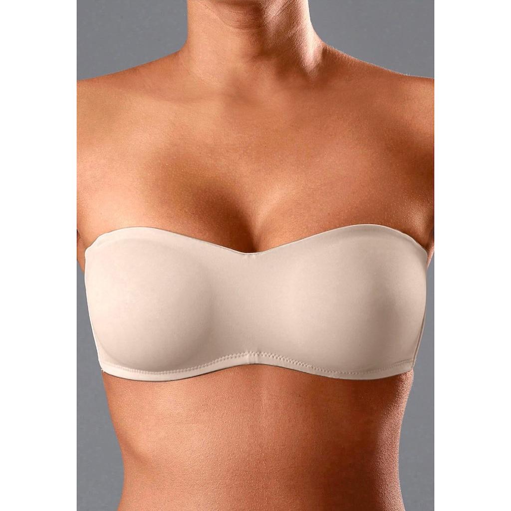 LASCANA T-Shirt-BH, mit Bügel und abnehmbaren Trägern