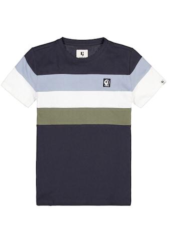 Garcia T-Shirt »mit farbigen Streifen« kaufen