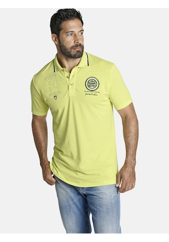 Jan Vanderstorm Poloshirt »HARALDUR«, mit dekorativen Emblemen kaufen