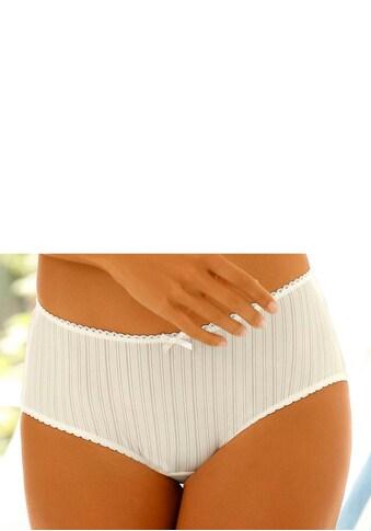 LASCANA Panty, mit hübscher Spitzenborte kaufen