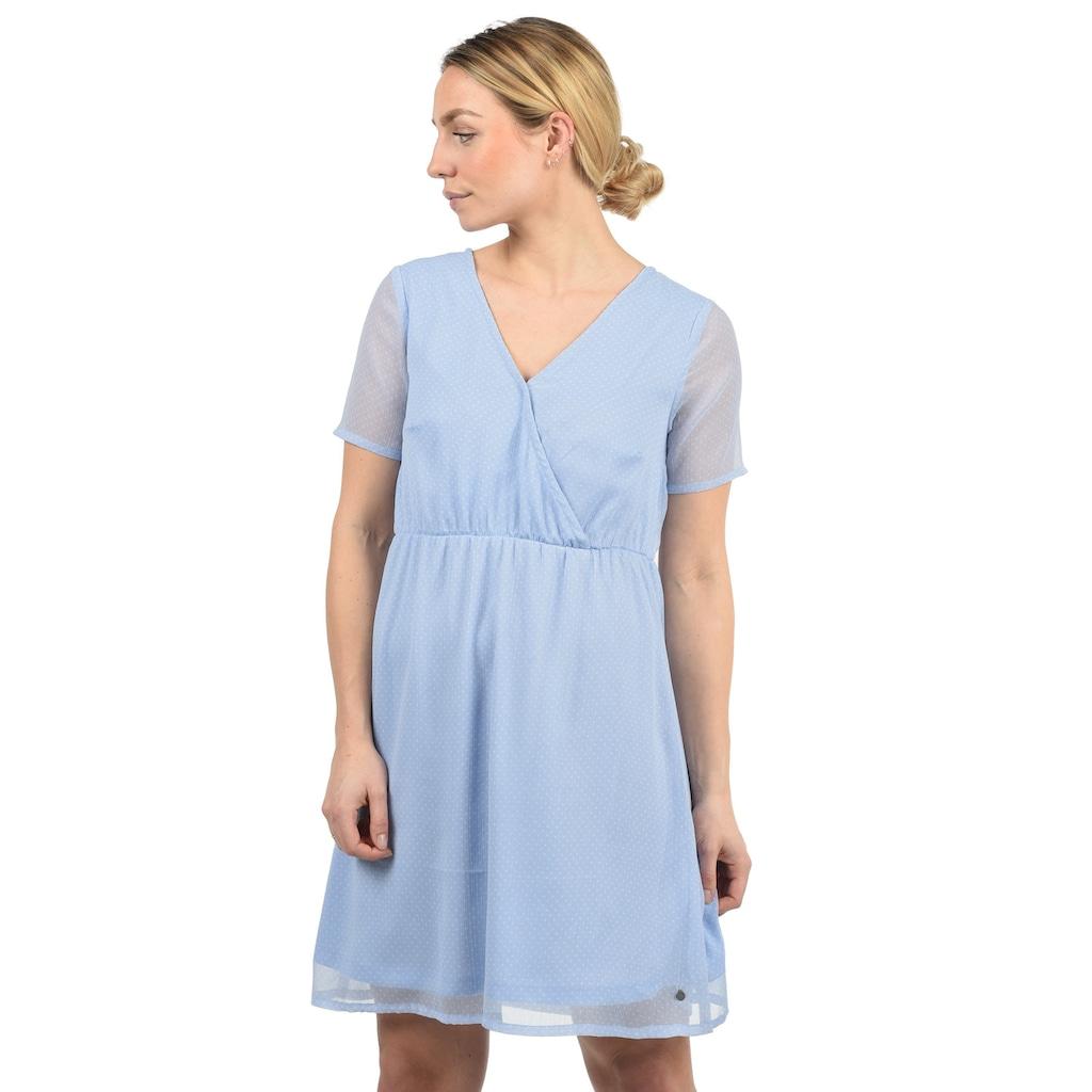 Blendshe Chiffonkleid »Charlotte«, Kleid mit V-Ausschnitt
