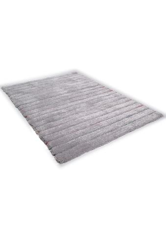 TOM TAILOR Hochflor-Teppich »Soft Hidden Stripes«, rechteckig, 35 mm Höhe, super weich... kaufen