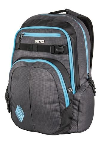 NITRO Schulrucksack »Chase, Blur Blue Trims« kaufen