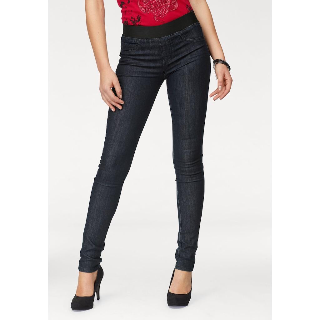 Arizona Skinny-fit-Jeans, Mid Waist Comfort-Stretch