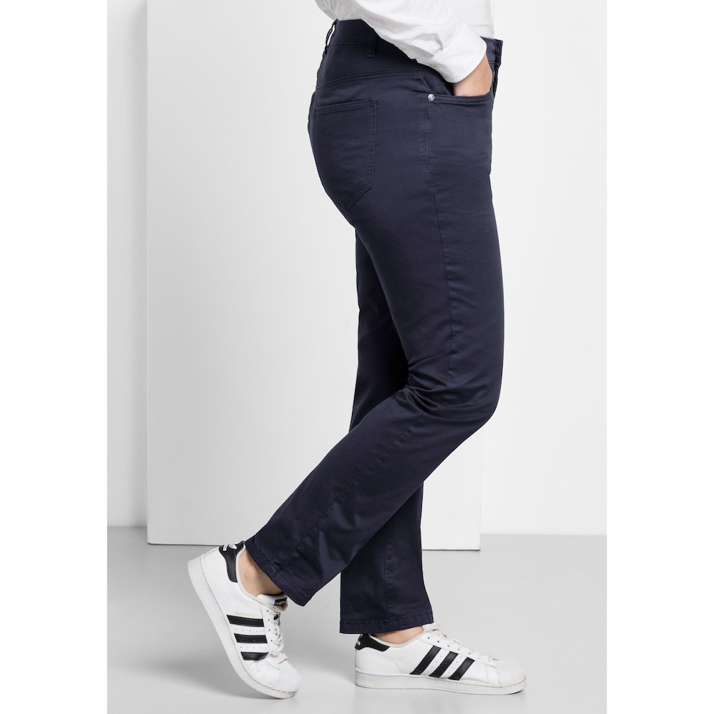 Sheego Stretch-Hose, in schmaler Form