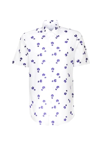 seidensticker Businesshemd »Shaped«, Shaped Kurzarm Kentkragen Floral kaufen