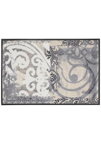 wash+dry by Kleen-Tex Fussmatte »Arabesque«, rechteckig, 9 mm Höhe, Schmutzfangmatte,... kaufen