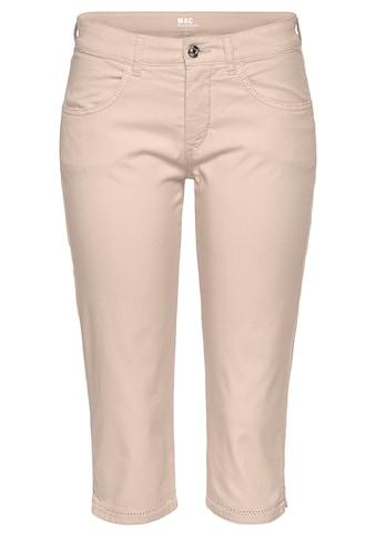 MAC Cargojeans »Capri-Summer Cotton«, Mit aufwendiger Lochstickerei am Saum kaufen