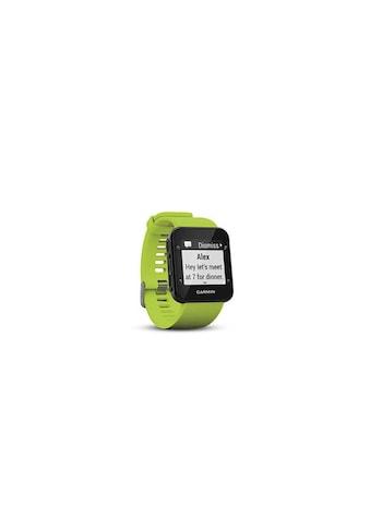 Garmin Fitnessuhr »GPS-Sportuhr Forerunner 35 Limelight Grün Schwarz« ( kaufen