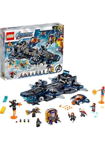 LEGO® Konstruktionsspielsteine »Avengers Helicarrier (76153), LEGO® Marvel Super... kaufen