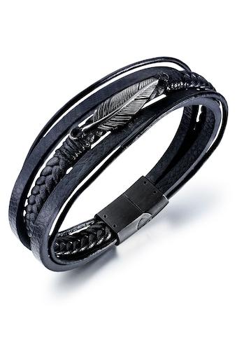 Firetti Armband »Feder, geschwärzt« kaufen