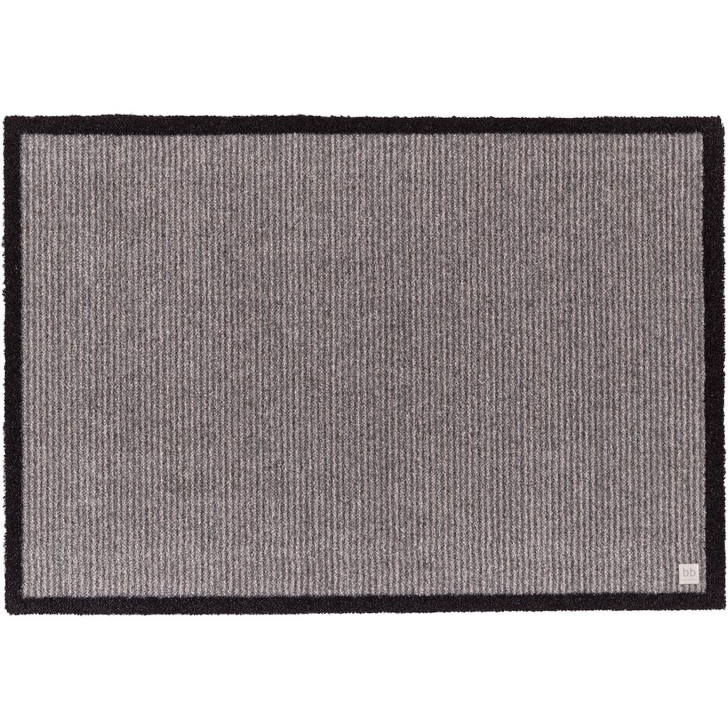 Barbara Becker Fussmatte »Gentle«, rechteckig, 10 mm Höhe, Schmutzfangmatte, In- und Outdoor geeignet, waschbar