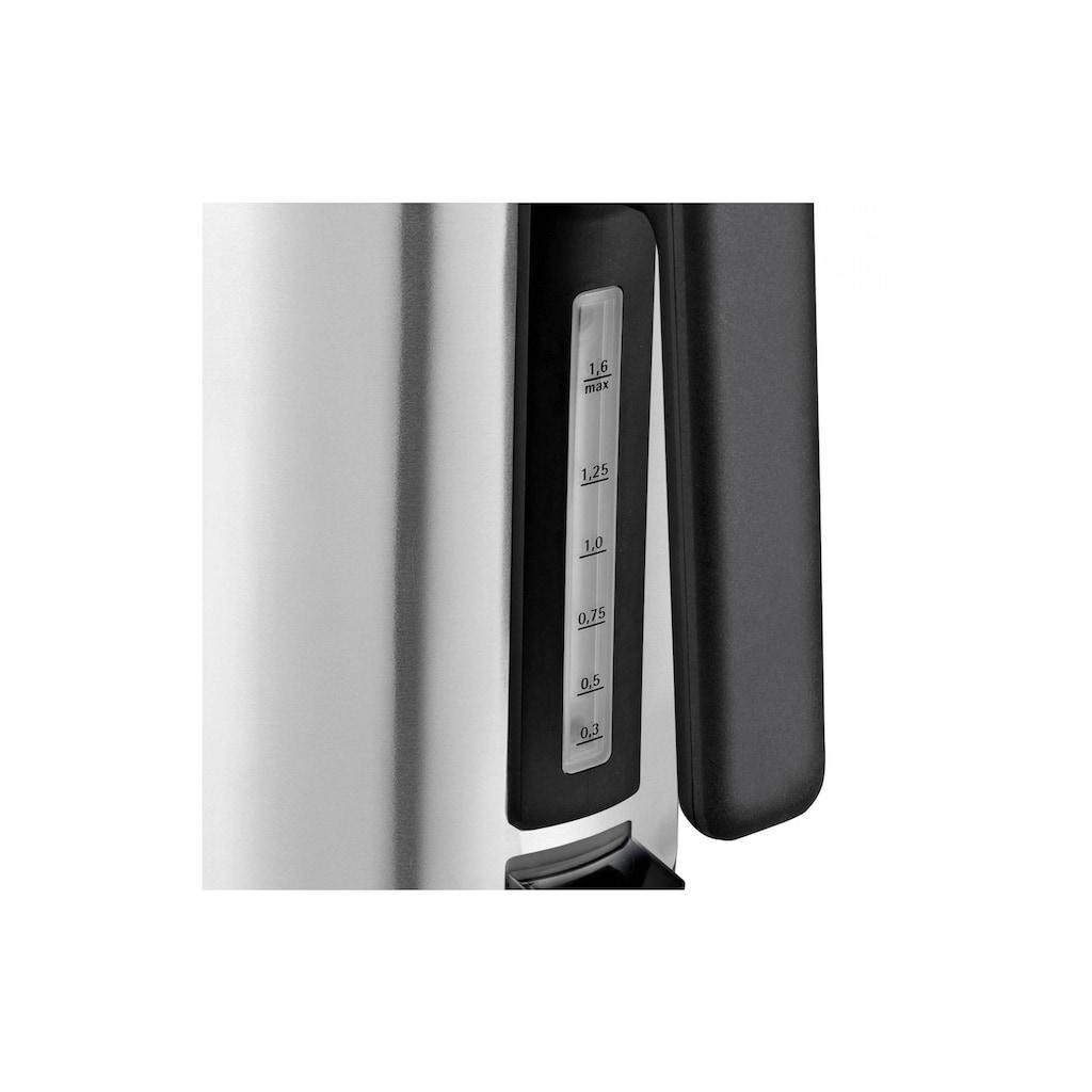 WMF Wasserkocher »LONO 1.6 l, Silber«, 1,6 l, 2400 W