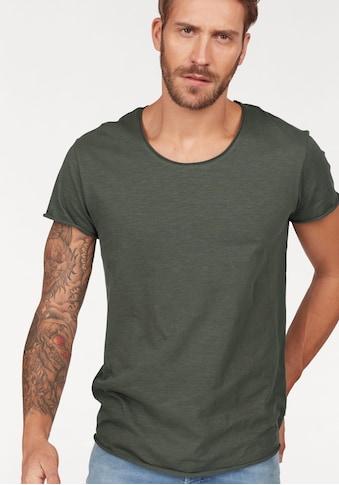 Jack & Jones T-Shirt »JJEBAS TEE U-NECK NOOS« kaufen