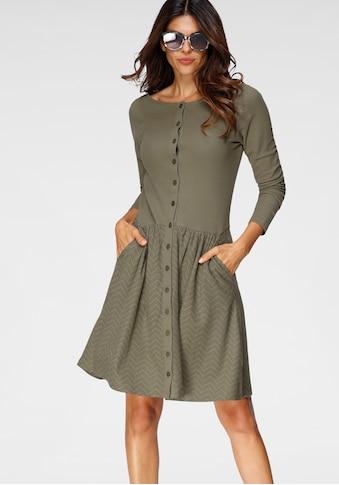 Boysen's Jerseykleid, aus bedrucktem Piquee Stoff kaufen