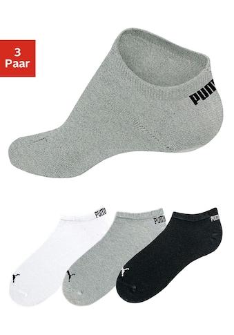 PUMA Sneakersocken, (3 Paar), in klassischer Form kaufen