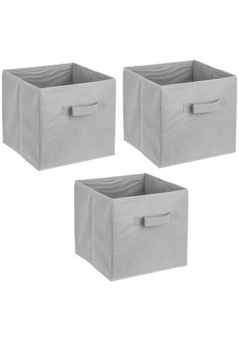 ADOB Set: Aufbewahrungsbox »Faltboxen«, 3er Set kaufen