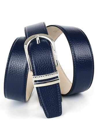 Anthoni Crown Ledergürtel, mit eleganter Dornschliesse, Rindsleder kaufen