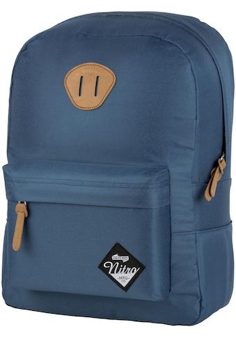 NITRO Freizeitrucksack »Urban Classic, Blue Steel«, mit Laptopfach kaufen