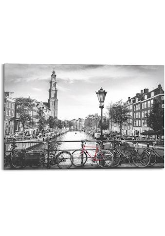 Reinders! Holzbild »Amsterdam Canal«, (1 St.) kaufen