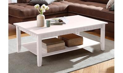Home affaire Couchtisch »Poehl«, mit praktischem Ablageboden kaufen