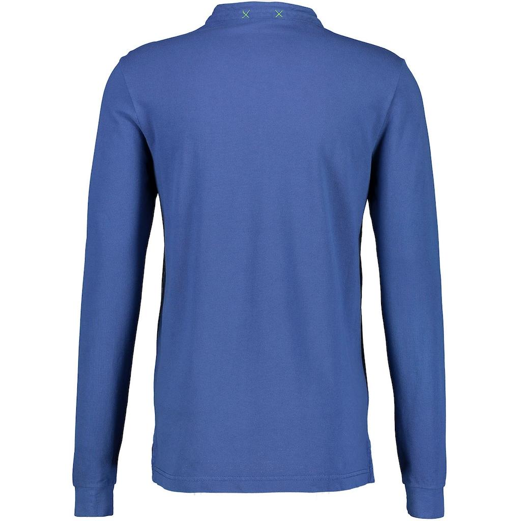LERROS Langarmshirt, mit Seitenschlitzen