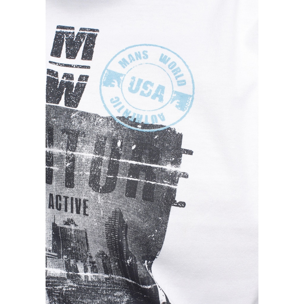 Man's World Langarmshirt