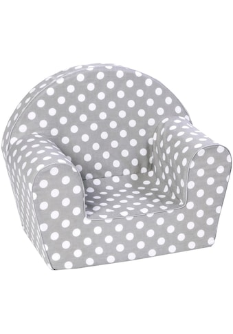 Knorrtoys® Sessel »Dots, grey«, Made in Europe kaufen