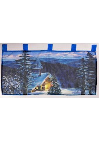 Dreams Scheibengardine »Winterhütte« kaufen