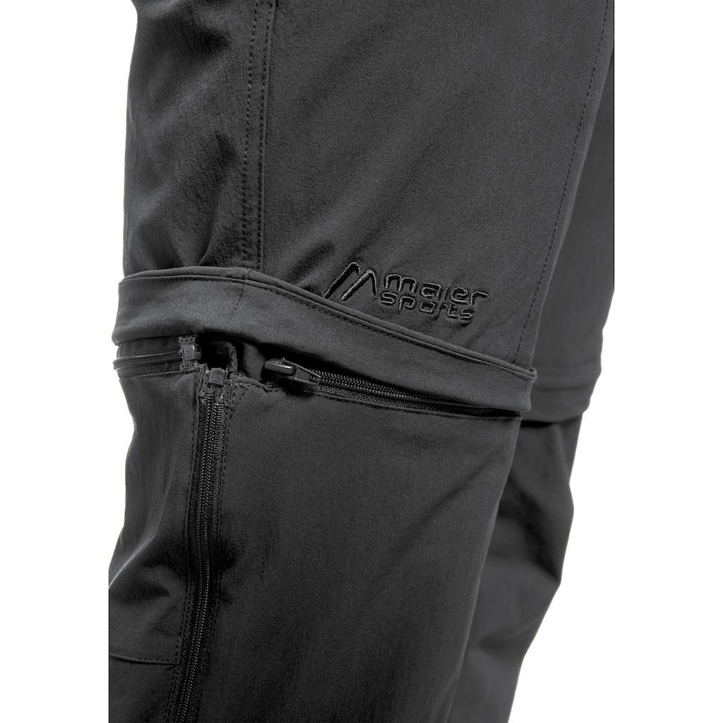 Maier Sports Funktionshose »Tajo«, Ausgezeichnete Outdoorhose mit funktionellem T-Zipp-Off