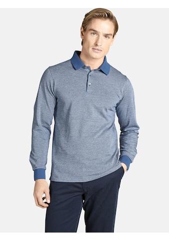 Charles Colby Langarm-Poloshirt »EARL MORGAN«, mit Jacquard-Tupfen Muster kaufen