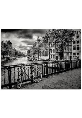 Artland Glasbild »Amsterdam Keizergracht I«, Niederlande, (1 St.) kaufen