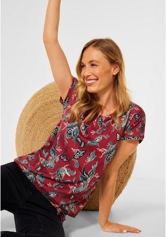 Cecil T-Shirt, aus softem Materialmix kaufen