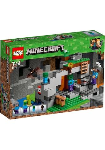"""LEGO® Konstruktionsspielsteine """"Zombiehöhle (21141), LEGO® Minecraft™"""", Kunststoff, (241 - tlg.) kaufen"""