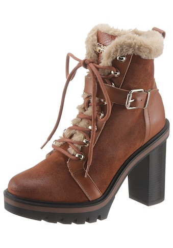 TOMMY HILFIGER High - Heel - Stiefelette »TOMMY WARM LINED HIGH HEEL BOOT« kaufen