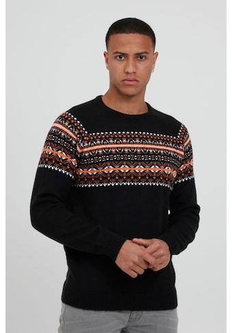 Blend Norwegerpullover »Pullover 20711794«, Strickpullover im Norweger-Look kaufen