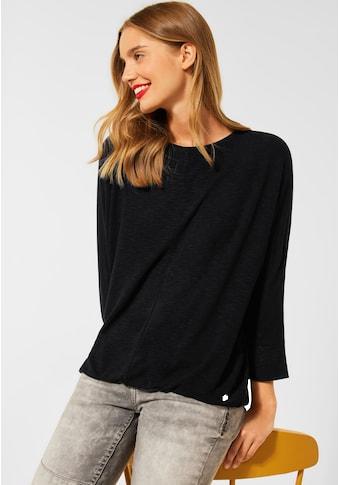 STREET ONE 3/4-Arm-Shirt, aus softer Viskose kaufen