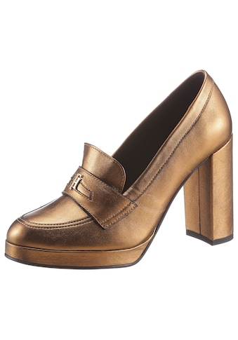 TOMMY HILFIGER High - Heel - Pumps »TOMMY POLISHED HIGH HEEL PUMP« kaufen