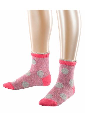 Esprit Socken »Pixel Dot 2-Pack«, (2 Paar), mit raffiniertem Rüschenbündchen kaufen
