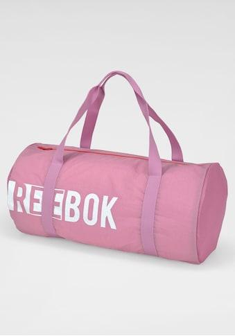 Reebok Sporttasche »W FOUND CYLINDER BA«, Mesheinsätze an den Seiten kaufen