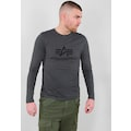 Alpha Industries Langarmshirt »BASIC T - LS«
