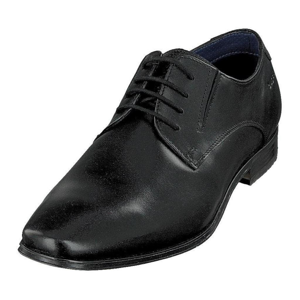 bugatti Schnürschuh »Morino«, mit flexibler Laufsohle