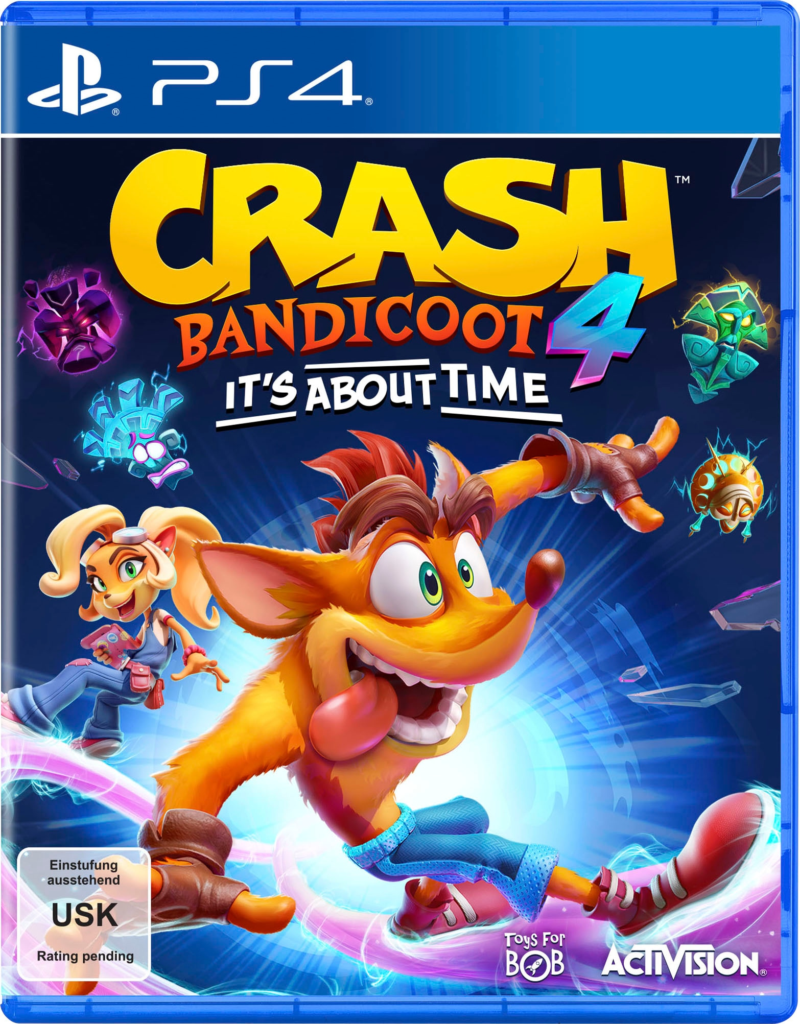 Image of Activision Spiel »Crash Bandicoot 4 - It´s About Time«, PlayStation 4