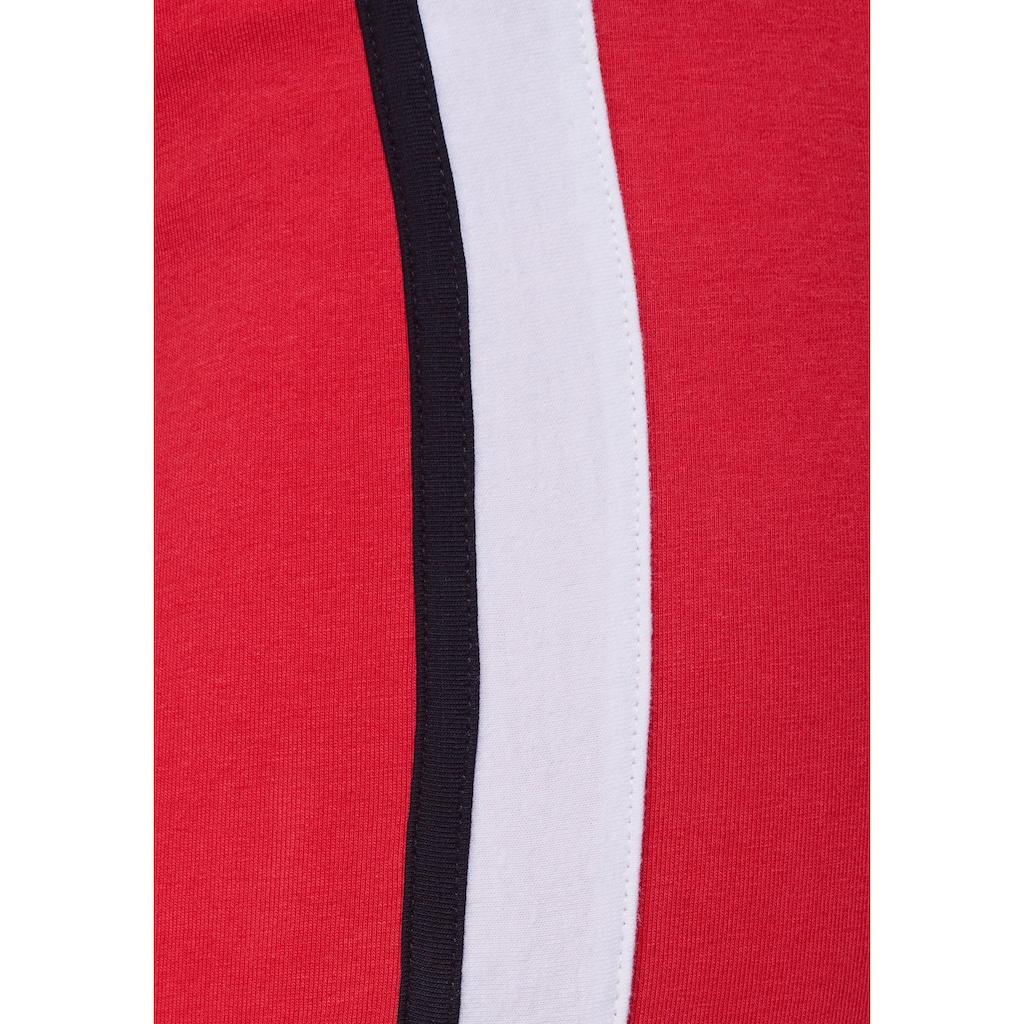 AJC Bleistiftrock, mit sportliche Go-Faster-Streifen