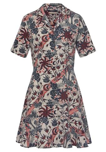 Scotch & Soda Hemdblusenkleid, kniefrei und mit wunderschönem Alloverprint kaufen