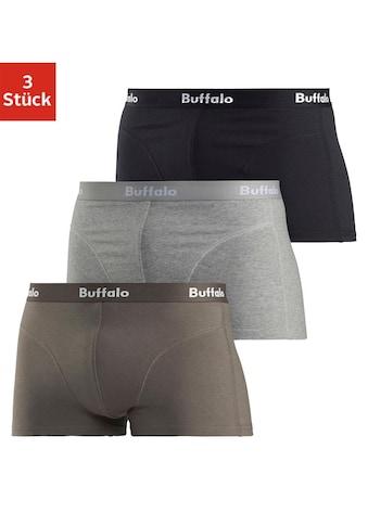 Buffalo Hipster, (Packung, 3 St., 3er-Pack), mit Overlock-Nähten vorn kaufen
