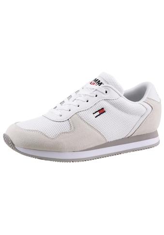 Tommy Jeans Keilsneaker »TOMMY JEANS MONO SNEAKER«, im modischen Materialmix kaufen