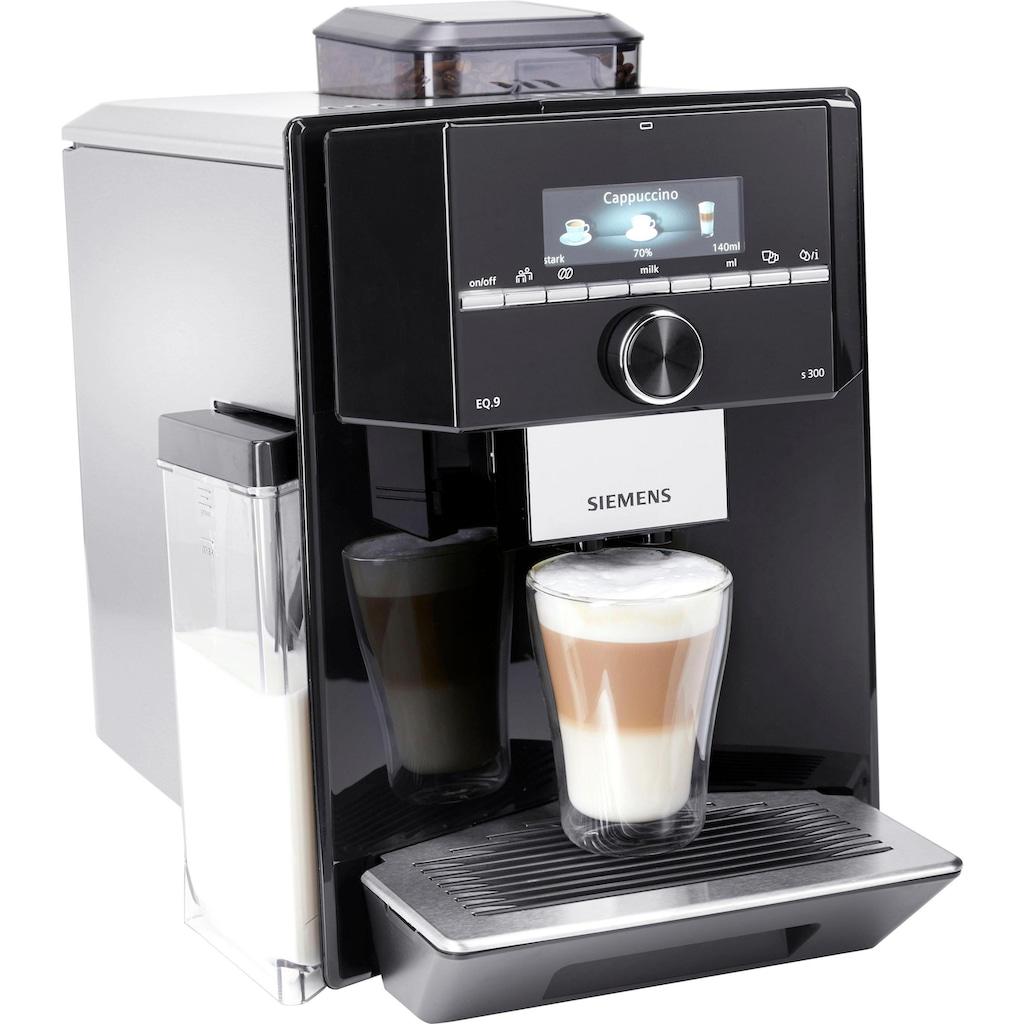 SIEMENS Kaffeevollautomat »EQ.9 s300 TI923509DE«