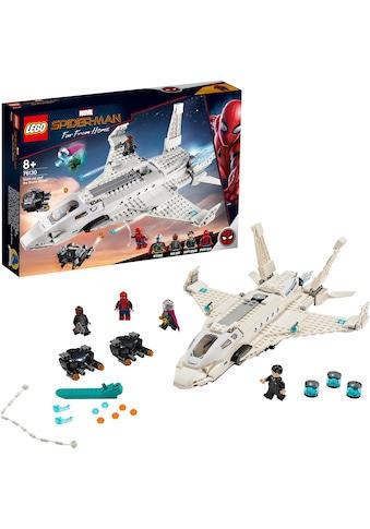 """LEGO® Konstruktionsspielsteine """"Starks Jet und der Drohnenangriff (76130), LEGO® Marvel Super Heroes™"""", Kunststoff, (504 - tlg.) kaufen"""